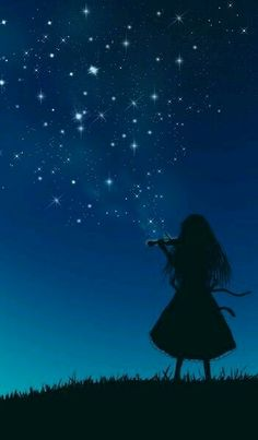 Play the Starry Sky (Unable to find Artist) Music melody violin piano guitar music art illustration photography music instrument anime Piano Art, Art Anime, Anime Scenery, Belle Photo, Night Skies, Cute Wallpapers, Fantasy Art, Beautiful Pictures, Photos