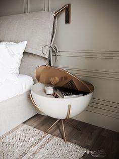 Project HD- Classicism with tobacco flavor Home Room Design, Home Interior Design, Interior Decorating, House Design, Home Bedroom, Bedroom Decor, Bedroom Furniture, Wall Decor, Suites