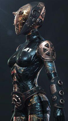 Cyberpunk Cyberpunk a blue color wallpaper - Blue Things Mode Cyberpunk, Cyberpunk Girl, Cyberpunk Fashion, Cyberpunk Tattoo, Cyberpunk Kunst, Cyberpunk 2077, Female Cyborg, Female Armor, Cyborg Girl
