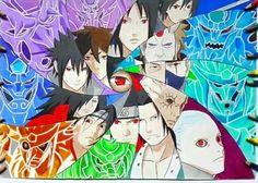 Naruto Eyes, Naruto Shippuden Sasuke, Itachi, Boruto, Naruto Team 7, Naruto Art, Anime Naruto, Ninja Art, Fan Picture