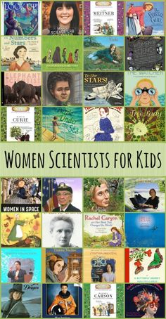 Collection of Children's Books about Women Scientists This collection of books about women scientists features some of the greatest minds of our time!This collection of books about women scientists features some of the greatest minds of our time! Science Books, Teaching Science, Computer Science, Elementary Science, Elementary Library, Teaching Tools, Elementary Shenanigans, Teaching Ideas, Library Science
