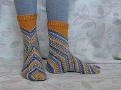 Ravelry: Started from the Heel pattern by Mai Meriste