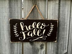 "This sign will make a lovely addition to any home or office. It would also make a great housewarming gift! Details: *measures approximately 6"" x 12"" *a piece is jute is attached for easy hanging. Proc"