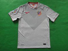 Fans Version Atletico Madrid 14/15 Away Grey Soccer Jersey Football Shirt