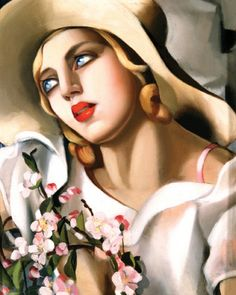 ( her paintings are so distintive)Tamara de Lempicka