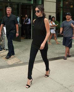 SELENA GOMEZ FASHION STYLE — Selena leaving her hotel in NYC, NY. August 20,...