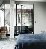 Salle de bain ouverte sur la chambre - Marie Claire Maison