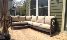 Patio Sectional – Without the shade of the patio cover, the terrace is just a concrete slab in your backyard. Building a patio cover can turn your backyard into an enticing outdoor living space that will not only increase the value of your home but will add to your enjoyment...