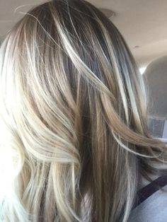Gorgeous light brown with blonde highlights by bertha