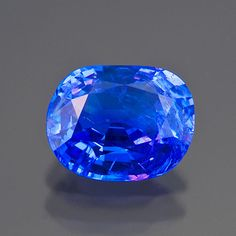 Pala International's Featured Stones 2009-2011 Blue spinel from Vietnam, 2.59 carats, 9.0 x 7.0 x 4.8 mm. Note: This stone has been sold. (Photo: Mia Dixon) In fact, we even had this most recent blue spinel (above) tested for cobalt at the Tucson show, at the GIA Show Service Laboratory. In the end the lab was able to find the presence of cobalt through the Chelsea filter, which glowed cherry red when illuminated.