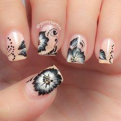 Instagram media by jennysantio #nail #nails #nailart
