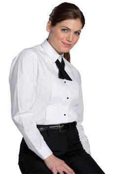 Ladies Tuxedo Shirts