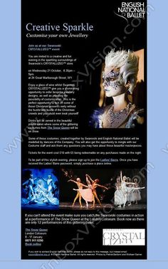 Company:  English National Ballet Subject:  Invitation - Private Swarovski Event              INBOXVISION is a global database and email gallery of 1.5 million B2C and B2B promotional emails and newsletter templates, providing email design ideas and email marketing intelligence.  http://www.inboxvision.com/blog  #EmailMarketing #DigitalMarketing #EmailDesign #EmailTemplate #InboxVision