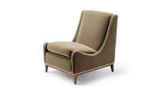 Sloop Chair - Amy Somerville Mid Century Modern Armchair, Mid Century Chair, Deco Furniture, Sofa Furniture, Modern Furniture, Contemporary Chairs, Modern Chairs, Midcentury Modern, Bedroom Chair