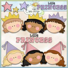 Little Princess 1 - NE Cheryl Seslar Clip Art : Digi Web Studio, Clip Art, Printable Crafts & Digital Scrapbooking!