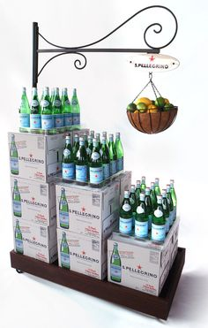 Retail Point of Purchase Design   POP Design   Alcohol & Soft Drinks POP   simple and clever. POP Displays.  Pinned by room one