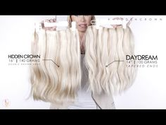 The Difference Between DayDream & Hidden Crown Hair Extensions