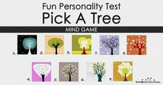 This is an interesting personality test. Look at the trees and Pick a Tree that is immediately most appealing to you. Don't think too long, Fun Mind Games, Mind Test, Quizzes For Fun, Great Thinkers, Inspirational Quotes About Success, You Are Strong, Stay Strong, Personality Quizzes, Subconscious Mind