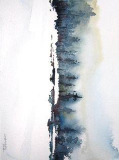 "'Elk Mountain' by Charles Ash   $250   20""w x 16""h   Original Art   http://www.arttwo50.com/buy/art/elk-mountain"