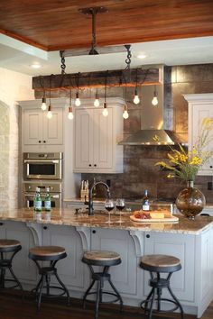 on country kitchen ideas lighting fix.html