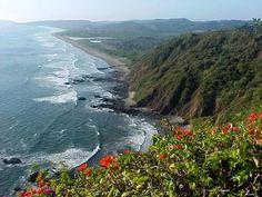 We drove La Ruta Del Sol-Ecuador (the route of the sun)