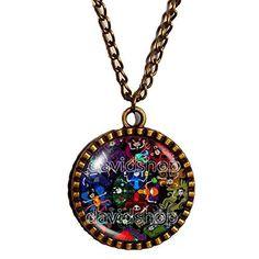 Homestuck Necklace God Mandala Pendant cosplay Jewelry Troll Capricorn Zodiac
