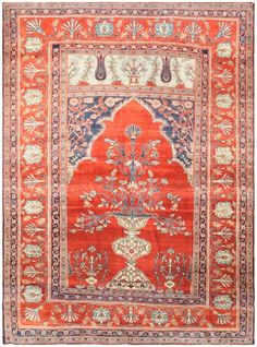 Antique Persian Silk Tabriz Rug 47151 Main Image - By Nazmiyal   http://nazmiyalantiquerugs.com/antique-rugs/silk/antique-persian-silk-tabriz-rug-47151/