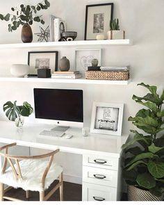 white + shelving