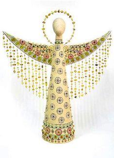 Ceramic works by Olena Kozak Polymer Clay Projects, Polymer Clay Art, Clay Angel, Gift Of Faith, Diy And Crafts, Arts And Crafts, Ceramic Angels, Angel Crafts, Art Carved