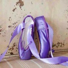 Sapatilhas de Ballet, lilás