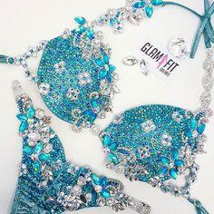 Custom made Competition bikinis in Australia