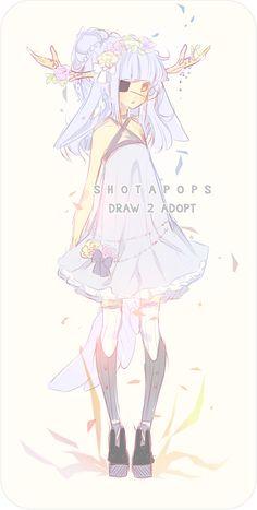 Draw-2-Adopt [CLOSED] by shotapops.deviantart.com on @deviantART