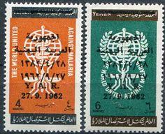 Francobolli . Lotta contro la malaria - Malaria on Stamps Yemen 1963