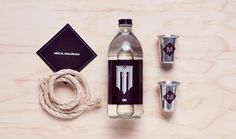Mezcal Malabraga ~ Designed by Manifiesto Futura Cool Packaging, Bottle Packaging, Brand Packaging, Best Tasting Liquor, Beer Pictures, Spiritus, Bottle Design, Packaging Design Inspiration, Brand It