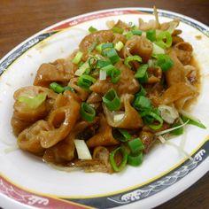 入口即化的滷豬腸。#Taiwanese Stewed pork chitterlings #food #instagood #Taiwan