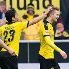 Kagawa & Reus Kagawa, Sports, Marco Reus, Borussia Dortmund, Guys, Hs Sports, Sport