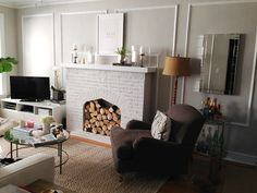 My Living Room // Before and After