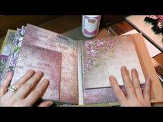 Heartfelt Creations Tutorial Pt5 Album and Inserts - YouTube