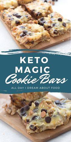 The ultimate Keto Magic Cookie Bars recipe. Made with sugar-free sweetened condensed milk, they are so ooey and gooey and only 3.1g net carbs! They taste just like the ones you remember from your childhood.