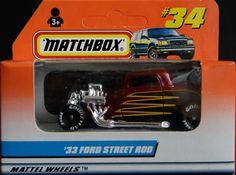 Model Matchbox 33 Ford Street Rod