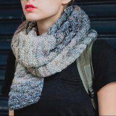 Stone Scarf knitting pattern