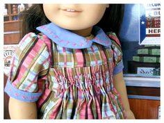 American Girl Doll 18 Inch Historical Dress by BonJeanCreations