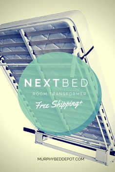 Get the guaranteed lowest price, lifetime warranty, and free shipping on your #NextBed #DIY #MurphyBed frame at murphybeddepot.com