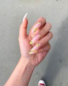 Nails Now, Aycrlic Nails, Hair And Nails, Red Acrylic Nails, Summer Acrylic Nails, Minimalist Nails, Nail Swag, Cute Acrylic Nail Designs, Nail Jewelry