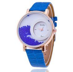 Dámské hodinky s přelévajícími se krystalky modré – dámské hodinky Na tento produkt se vztahuje nejen zajímavá sleva, ale také poštovné zdarma! Využij této výhodné nabídky a ušetři na poštovném, stejně jako to udělalo již …