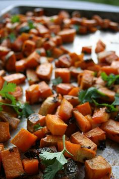 Cilantro Lime Sweet Potatoes with Honey by Tasty Yummies, via Flickr
