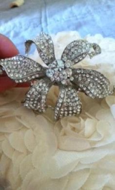 Wedding Dress Accessories - Tiara/Hair Accessory $45 USD - New With Tags