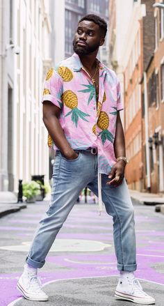 Amazing Black Mens Fashion Style Ideas To Steal Dope Outfits For Guys, Summer Outfits Men, Summer Men, Mens Fashion Blog, Fashion Outfits, Fashion Styles, Casual Outfits, Casual Wear, Men Casual