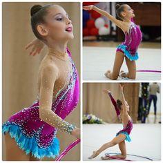 Rhythmic gymnastics leotard (photos by Sergei Antonishkis)