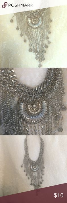 NEW BoHo Necklace never been worn / 18 inch long, and 3 inch extender Jewelry Necklaces